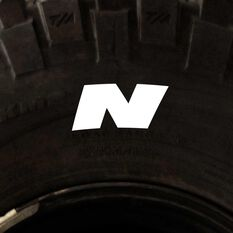 Tire Stickers - Letter N, , scanz_hi-res