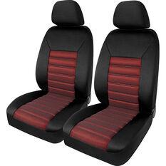 SCA Memory Foam Seat Cover - Red Mesh 30SAB, , scanz_hi-res