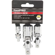 "ToolPRO Universal Joint Set 1/4"" 3/8"" & 1/2"" Drive, , scanz_hi-res"