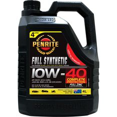 Penrite Full Synthetic Engine Oil 10W-40 4 Litre, , scanz_hi-res