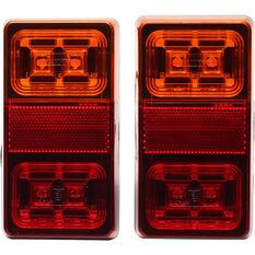 Trailer Lamp LED 12V Rectangular 2 Pack, , scanz_hi-res