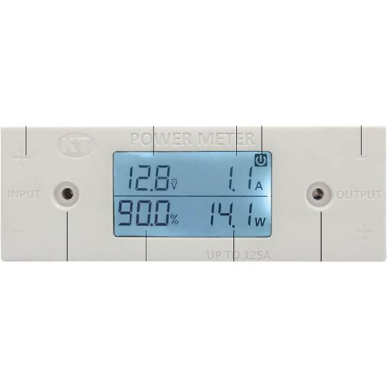 KT Cable Solar Power Meter - Volts, AMPs  and  Watts - KT70752, , scanz_hi-res