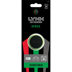 Lynx Vent Mini Air Freshener - Africa, , scanz_hi-res