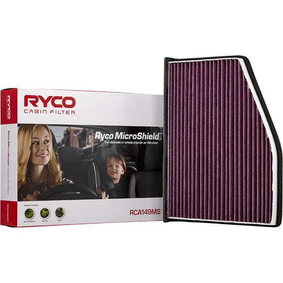 Ryco Cabin Air Filter Microshield - RCA149MS, , scanz_hi-res