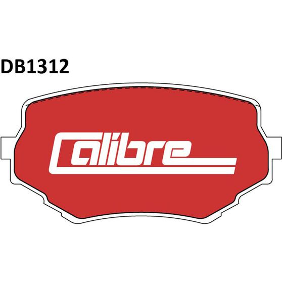 Calibre Disc Brake Pads - DB1312CAL, , scanz_hi-res