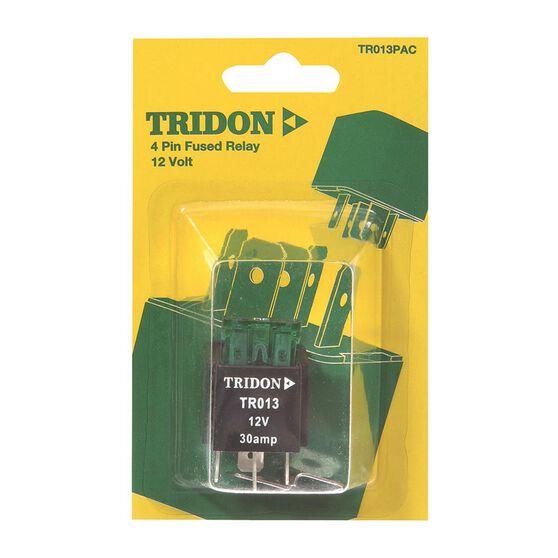 Tridon Mini Relay - 30 AMP, 4 Pin, , scanz_hi-res