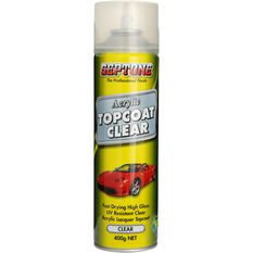 Septone Acrylic Aerosol Paint - Clear Topcoat, 400g, , scanz_hi-res