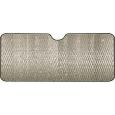 SCA Extra Wide Bubble Sunshade Silver Accordion Front, , scanz_hi-res