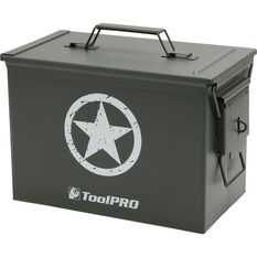ToolPRO Army Star Metal Ammunition Case, , scanz_hi-res