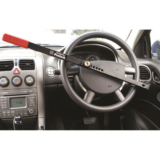 Steering Wheel Lock - Uni, Black, , scanz_hi-res
