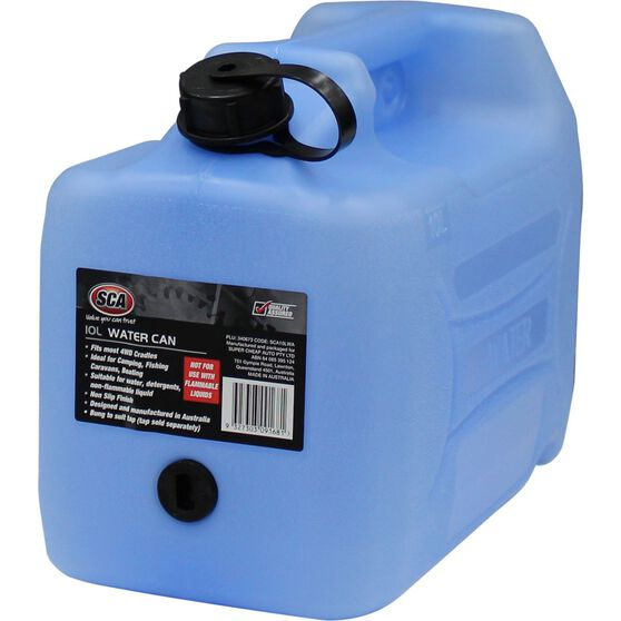SCA Water Carry Can 10 Litre Blue, , scanz_hi-res