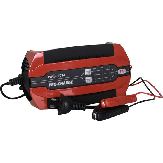 Projecta Pro-Charge 12V 2-8 Amp Battery Charger, , scanz_hi-res