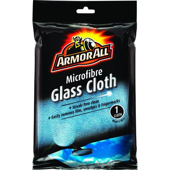 Armor All Microfibre Glass Cloth - 400 x 400mm, , scanz_hi-res