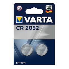 Varta Lithium Coin Battery - CR2032, 2 Pack, , scanz_hi-res