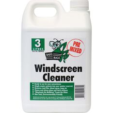 Bar's Bugs Pre-mix Windscreen Cleaner - 3 Litre, , scanz_hi-res