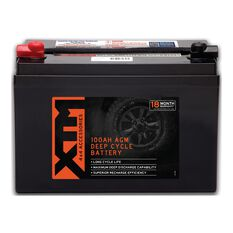 XTM Deep Cycle AGM Battery DC12-100AGM, , scanz_hi-res
