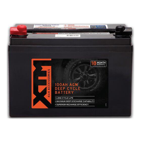 XTM Deep Cycle AGM Battery DC12-100AGM, , scanz_hi-res