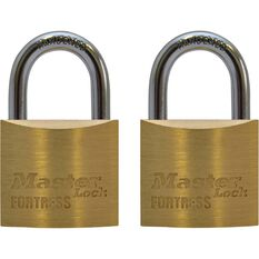 Master Lock Fortress Padlock - 30mm, 2 Pack, , scanz_hi-res