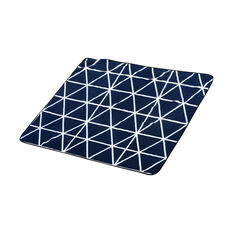 SCA Travel Blanket - Navy and White, 1.5m x 1.5m, , scanz_hi-res