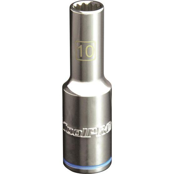 """ToolPRO Single Socket - Deep, 1/2"""" Drive, 10mm, , scanz_hi-res"""