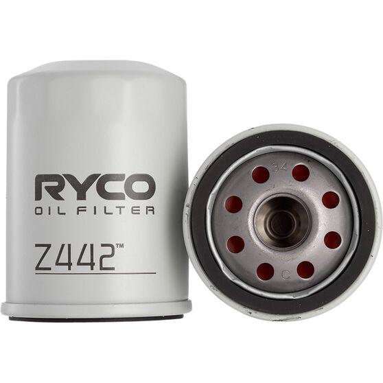 Ryco Oil Filter - Z442, , scanz_hi-res