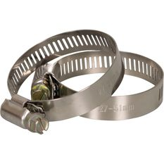 Calibre Hose Clamps - 27-51mm, 2 Pieces, , scanz_hi-res