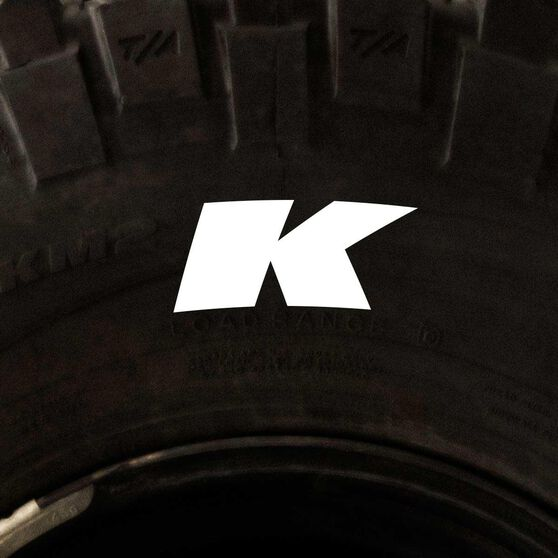 Tire Stickers - Letter K, , scanz_hi-res
