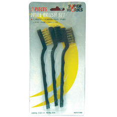 SCA Wire Brush Set - 3 Piece, , scanz_hi-res