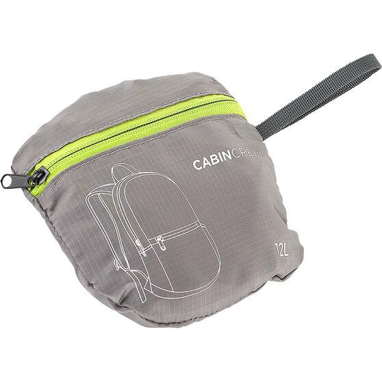 Cabin Crew Glovebox Backpack - 12L Grey/Green, , scanz_hi-res