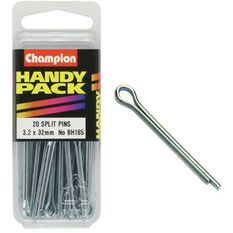 Champion Split Pins - 3.2mm X 32mm, BH185, Handy Pack, , scanz_hi-res