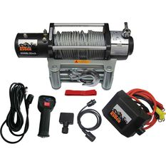 Ridge Ryder Electric Winch 12V 9500lb, , scanz_hi-res