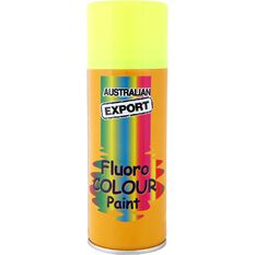 Export Enamel Aerosol Paint - Fluro Lunar Yellow, 125g, , scanz_hi-res