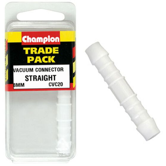 Champion Straight Connector - 8mm, Trade Pack, , scanz_hi-res