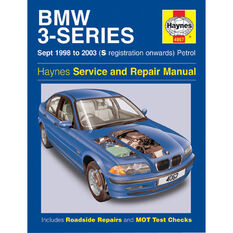 Haynes Car Manual For BMW 3 Series 1998-2003 - 4067, , scanz_hi-res