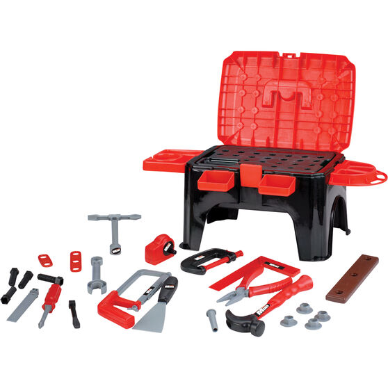 Kids Power Tool - Tool Kit with Stool, , scanz_hi-res