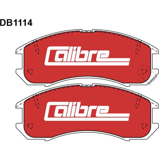 Calibre Disc Brake Pads - DB1114CAL, , scanz_hi-res