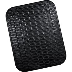 Single Rubber Floor Mat - Black, 458 x 390mm, , scanz_hi-res