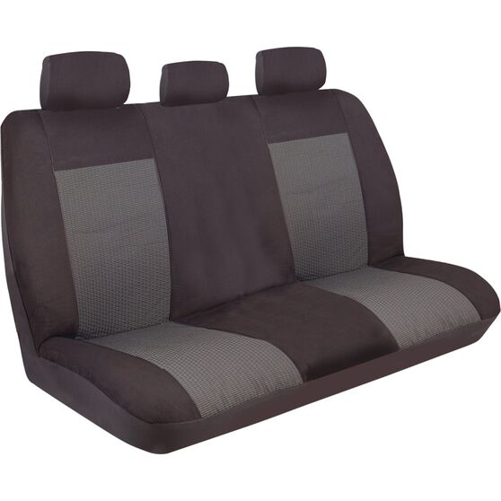 Imperial Seat Covers - Black, Rear Seat (Includes Headrests), Size 06, , scanz_hi-res