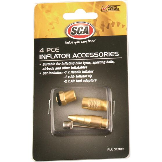 SCA Inflator Air Adaptors - 4 Piece, , scanz_hi-res