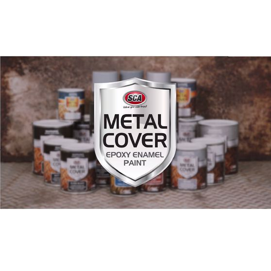 SCA Metal Cover Enamel Rust Paint - Heavy Duty Grey Primer, 300g, , scanz_hi-res