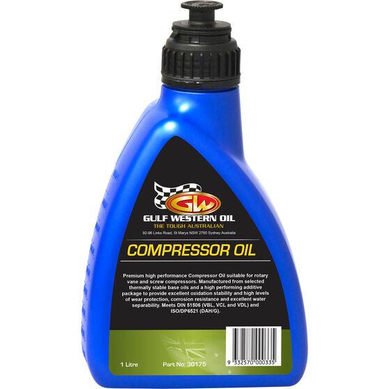 Gulf Western Compressor Oil - 1 Litre, , scanz_hi-res