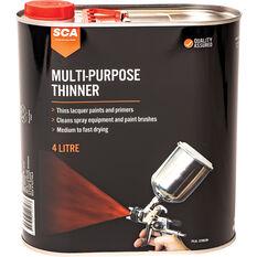 SCA Multi-Purpose Thinner - 4 Litre, , scanz_hi-res
