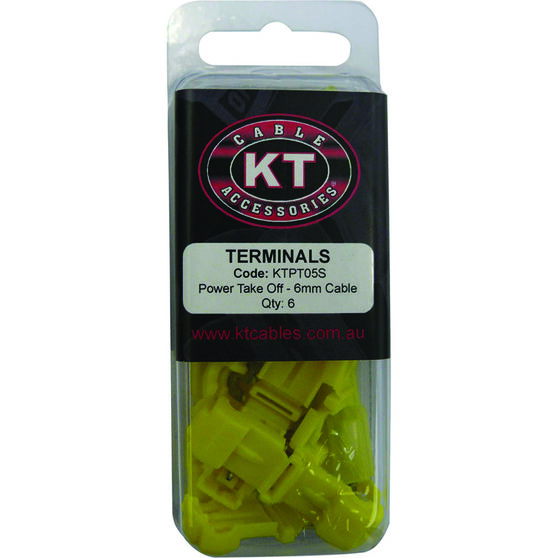 KT Cable Power Take Off - Yellow, 6 Pack, , scanz_hi-res