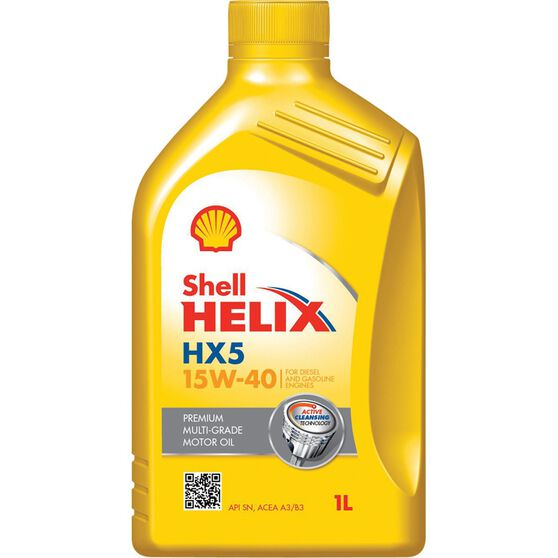 Shell Helix HX5 Engine Oil - 15W-40, 1 Litre, , scanz_hi-res