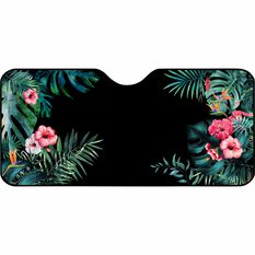 SCA Bubble Sunshade - Tropical Black,  Accordion, Front, , scanz_hi-res
