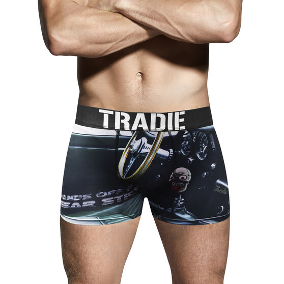Tradie Mens Geared up Trunks Geared Up S, Geared Up, scanz_hi-res
