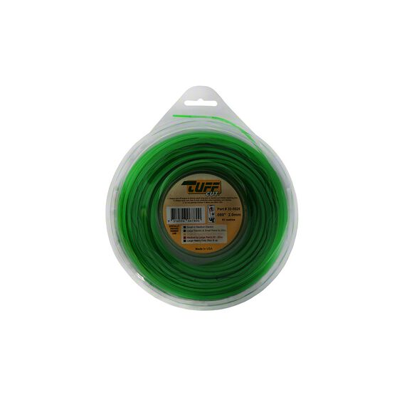 Tuff Cut Trimmer Line - Green, 2mm X 61m, , scanz_hi-res