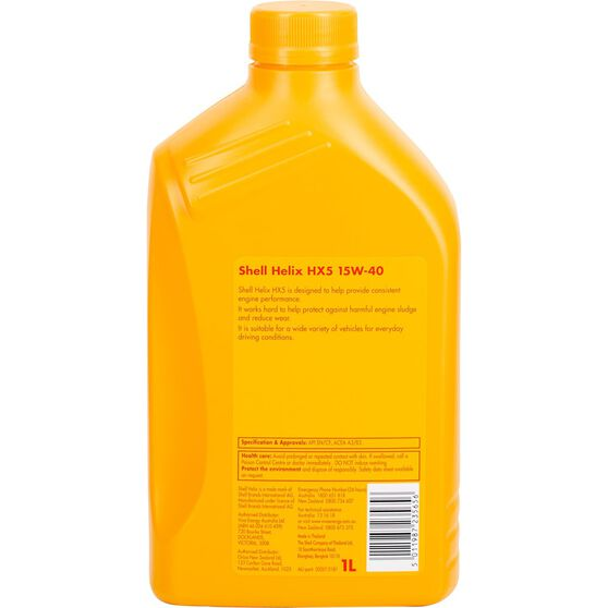 Shell Helix HX5 Engine Oil 15W-40 1 Litre, , scanz_hi-res