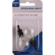Enduralight Automotive Globe - Plastic Wedge Bulb, 12V, 27 / 7W, , scanz_hi-res