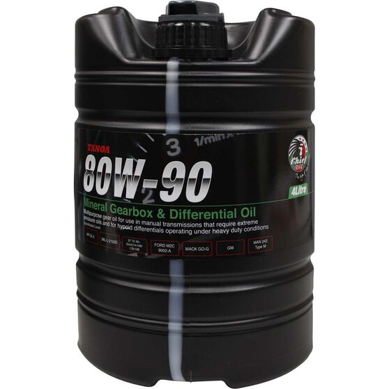 Chief Tanoa Gear Oil - 80W-90, 4 Litre, , scanz_hi-res